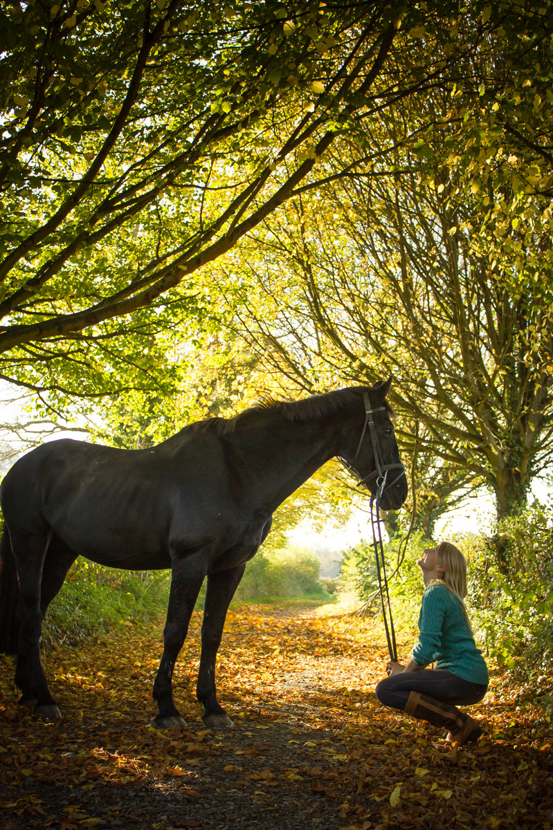 Girl and her horse<3