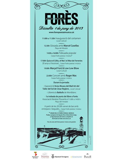 IV Forès poesia i música