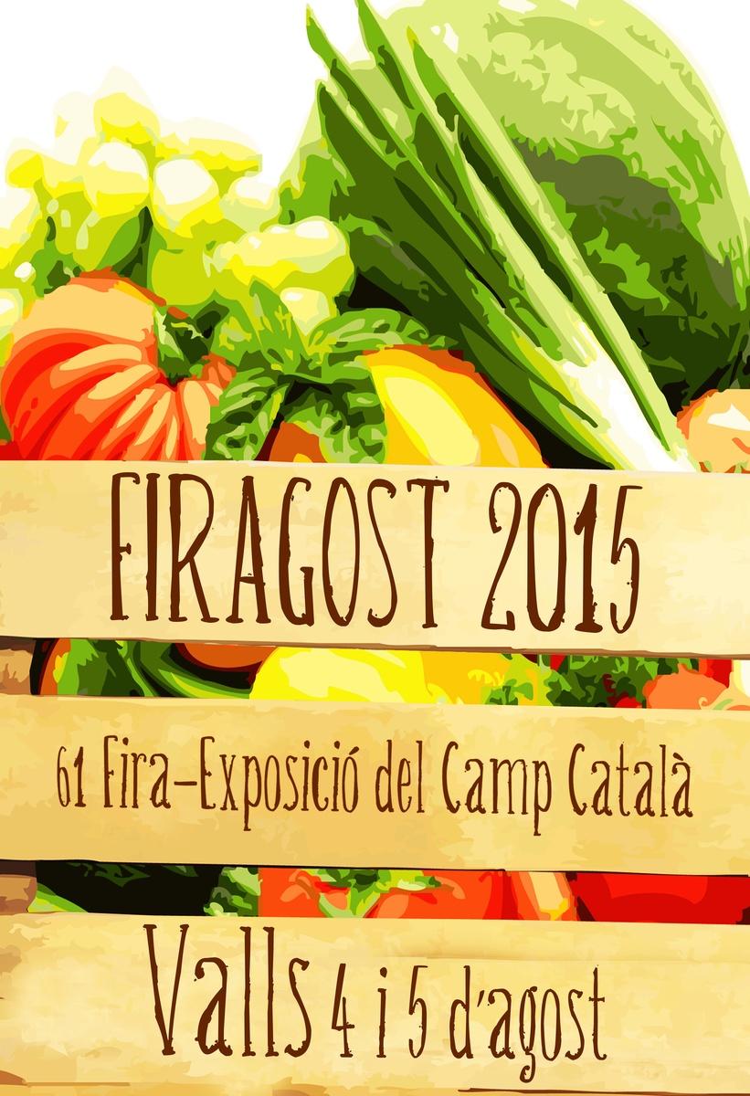 """Cartell presentat a concurs del """"Firagost 2015"""""""