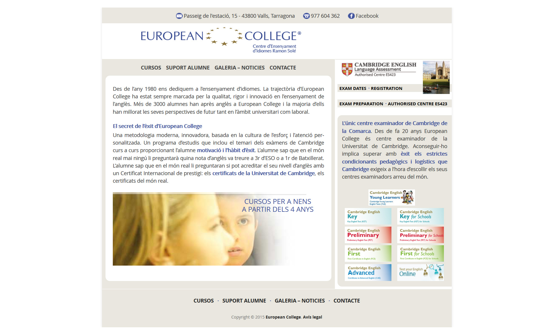 Web European College