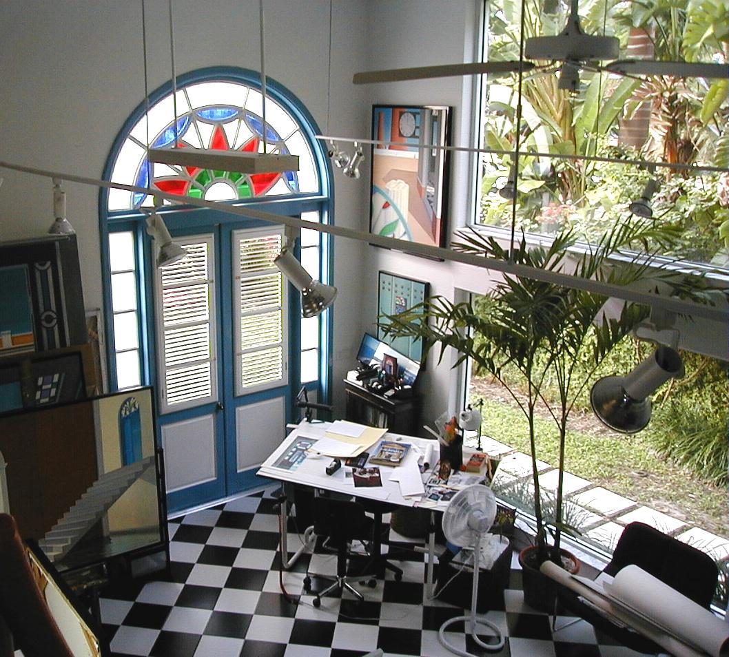 Visit Calzada's Studio