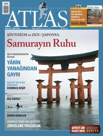 Shintoism and Zen Buddhism photos on Atlas Magazine March 2016 Issue