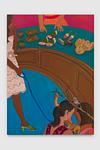 Sakuramochi, oil on linen, 180 x 130 cm
