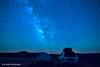 Camping under the stars in the Valley Of The Gods