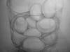 Value Study in Graphite: Eggs