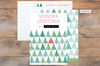 """""""pine forest"""" christmas card"""