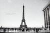 Eiffel Tower - B & W