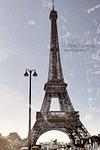 Eiffel Tower - Retro