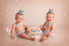 Twin Baby Photography Cake Smash & Photoshoot by Kate Jades Photography in Wirral, Cheshire & Liverpool.