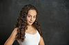 portrait of beautiful young girl in Modiin photography studio