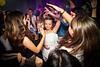 Bat mitzvah girl dancing at her party