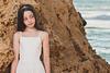 Bat Mitzva girl at the Palmachim beach