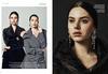 Auraa Models Alina & Valentina featured In Hapar's Bazaar for Forevermark Campaing