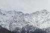 Yukon Mountainscape with eagle overhead