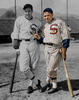 Mule Haas, and Jimmy Dykes -Chicago White Sox (1933)