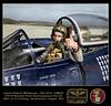 Captain Phil Whitehouse, USMCR, F2H-2P Banshee, VMJ-1, 1st MAW, Korean War (1953)