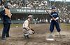 Yip Owens - Catching (Chicago White Sox) & Bob Unglaub - at bat (Washington Senators) (1909)