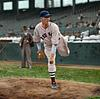Lefty Grove - Boston Red Sox (1936) (Original B&W photo © 1936 Leslie Jones)