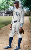 """Smokey"" Joe Williams - New York Lincoln Giants (1916)"