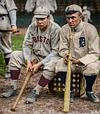 Tris Speaker (Red Sox) & Ty Cobb (Tigers) - 1911