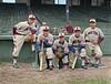 Frankhouse, Simmons, Barkley, Hassett, & Stengel - Boston Bees (1939). Original B&W Photo © 1939 Leslie Jones