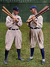 Ty Cobb - Detroit Tigers & Shoeless Joe Jackson - Cleveland Naps (1911)