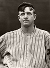 Christy Mathewson - New York Giants (1912) - Fully Restored in Sepia Tone