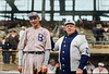 Rube Marquard & Manager Wilbert Robinson. National League Champion Brooklyn Robins (1916)