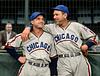 Bob Garbark & Dizzy Dean -  Chicago Cubs (1939). Original B&W © 1939 Leslie Jones