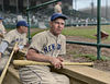 Mel Ott - NY Giants (1938). Original B&W Photo © 1938 Leslie Jones