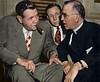 Babe Ruth w/ Father Edward J. Flanagan of Boys Town (1947)