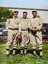 Al Simmons, Tris Speaker, and Ty Cobb - Philadelphia Athletics (1928)