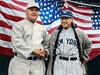 Managers Lee Fohl & Miller Huggins - Opening Day @ Fenway Park (1924)
