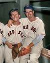 Harry Agganis & Johnny Pesky - Boston Red Sox (1954)
