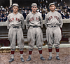 The $Million Outfield (Hooper, Speaker, & Lewis) - Boston Red Sox (1912)