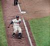 Jackie Robinson - Brooklyn Dodgers (1955). Original B&W Photo © 1955 Ralph Morse
