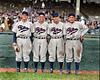 Dolph Camilli, Leo Norris, Chile Gomez, & Pinky Whitney - Philadelphia Phillies (1936). Original B&W Photo © 1936 Leslie Jones