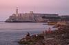 El Morro Lighthouse At Twilight