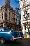 Rear end of American Classic Passes Hotel in Havana