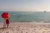 Sunrise dreaming. Couple Photoshoot at the beach. Son Serra de Marina, Mallorca