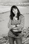 Serene Confidence. Portrait session at the beach in Son Serra de Marina. Balearic Islands.