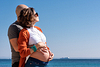 Sea, Sun and Son. Couple and Pregnancy Photoshoot at the beach. Portal Vells, Calvia, Mallorca