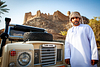 Land Rover pride in Wadi Munqiniyat.