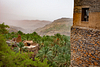 The terraced hillside town of Misfat al-Abriyeen.