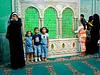 Inside the Shrine to Imam Husayn. Umayyad Mosque. Damascus.