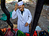 Vegetable vendor. Cairo.