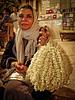 Jasmine vendor. Husayn Square. Cairo.