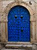 Ornate doorway. Sidi Bou Said. Tunis.