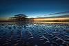 West Pier blue hour