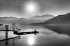 Fishing on Lake Como